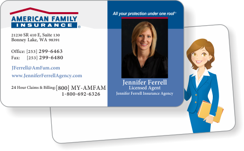 American family farmers allstate insurance business cards great quality cards colourmoves