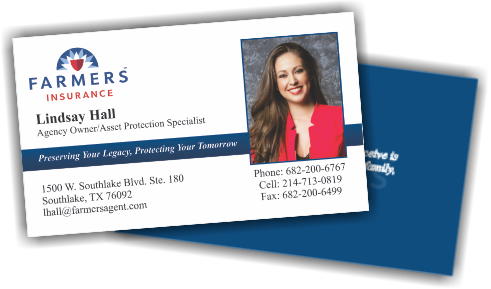 Farmers insurance business card example high quality affordable farmers insurance business cards colourmoves