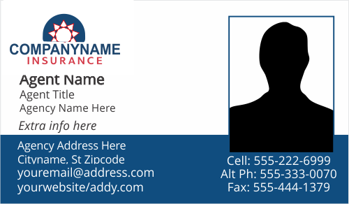 american family farmers insurance business card templates