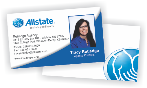 Allstate Insurance Agent Business Cards